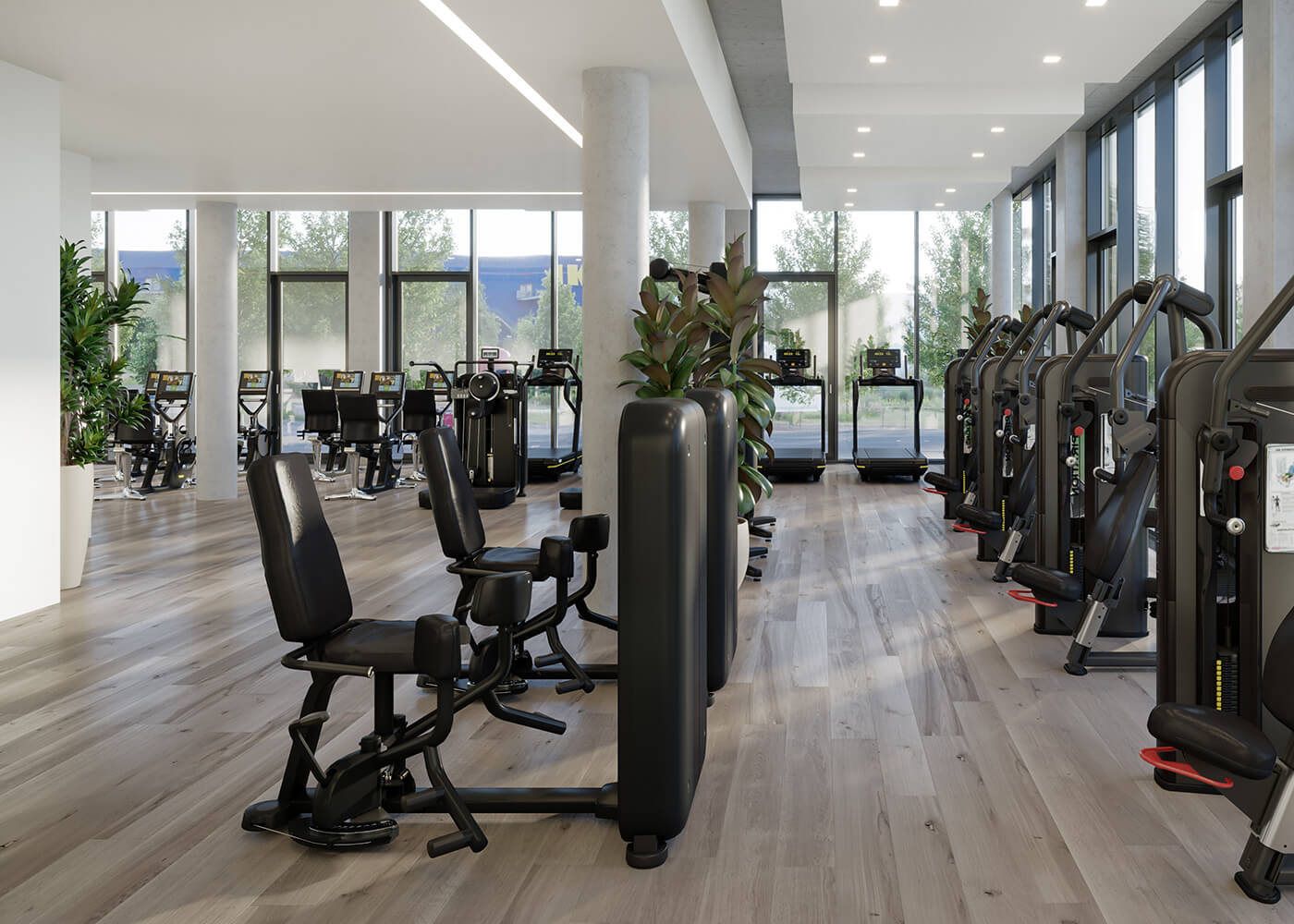 Fitnessstudio Chicago Lane Office Suites